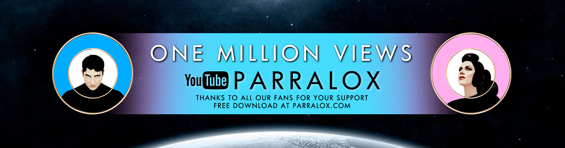 Parralox - One Million Views on YouTube